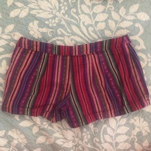 Free People Shorts - Free People Multicolored Bohemian Festival Shorts